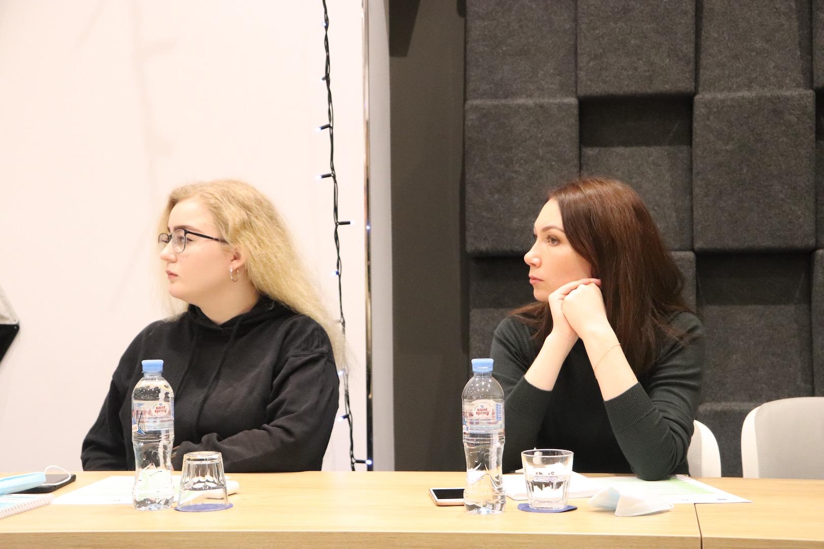 Анна Лобанова и дочь Ирины Славиной
